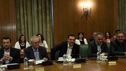 Ο πρωθυπουργός Αλέξης Τσίπρας προεδρεύει στη συνεδρίαση του Υπουργικού Συμβουλίου. ΦΩΤΟΓΡΑΦΙΑ ΑΡΧΕΙΟΥ. ΑΠΕ-ΜΠΕ/ΑΠΕ-ΜΠΕ/ΟΡΕΣΤΗΣ ΠΑΝΑΓΙΩΤΟΥ