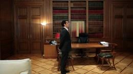 Ο πρωθυπουργός Αλέξης Τσίπρας στο Μέγαρο Μαξίμου. ΑΠΕ-ΜΠΕ, ΑΛΕΞΑΝΔΡΟΣ ΒΛΑΧΟΣ