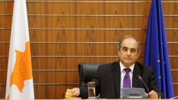 Ο Πρόεδρος της Κυπριακής Βουλής, Δημήτρης Συλλούρης. Φωτογραφία: ΚΥΠΕ.