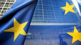 A file photo showing European Union flag. EPA, OLIVIER HOSLET