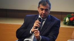 Ο πρόεδρος της ΕΣΕΕ, Βασίλης Κορκίδης. ΑΠΕ-ΜΠΕ/ΑΛΕΞΑΝΔΡΟΣ ΒΛΑΧΟΣ