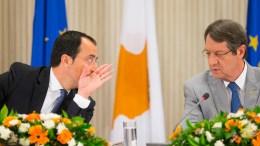 Ο Πρόεδρος της Δημοκρατίας, κ. Νίκος Αναστασιάδης στη συνέντευξη Τύπου σχετικά με τη Διάσκεψη για το Κυπριακό. Προεδρικό Μέγαρο, Λευκωσία. Φωτογραφία ΣΤ. ΙΩΑΝΝΙΔΗΣ