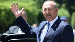 Ο Τούρκος υπουργός Εξωτερικών, Μεβλούτ Τσαβούσογλου.  ΑΠΕ-ΜΠΕ, ΚΥΠΕ, ΚΑΤΙΑ ΧΡΙΣΤΟΔΟΥΛΟΥ