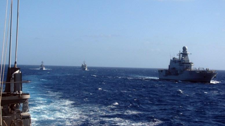 Φωτογραφία ΑΡΧΕΙΟΥ: Πολεμικά πλοία παίρνουν μέρος στην πολυεθνική άσκηση PHOENIX EXPRESS στην περιοχή Κεντρικής Μεσογείου και στη ναυτική βάση της Σούδας. ΑΠΕ-ΜΠΕ, ΓΡΑΦΕΙΟ ΤΥΠΟΥ ΓΕΝ, STR