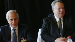 O υπουργός Εξωτερικών της Ελλάδας, Νίκος Κοτζιάς. Φωτογραφία: ΚΥΠΕ.