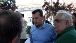 Ο υπουργός Ψηφιακής Πολιτικής Νίκος Παππάς. ΑΠΕ-ΜΠΕ/Δημήτρης Στραβού