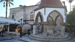 Ζημιές στην Κω από σεισμό μεγέθους 6,4 Ρίχτερ. ΑΠΕ-ΜΠΕ/AEGEANEWS/Γιάννης Κιάρης.