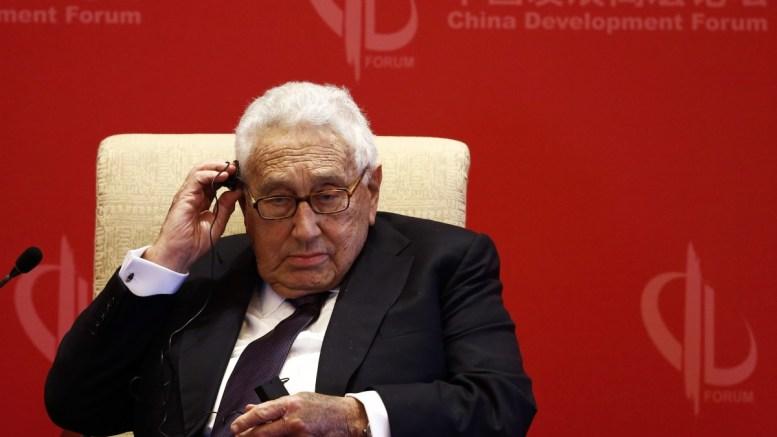 Former US Secretary of State Henry Kissinger. FILE PHOTO. EPA, ROLEX DELA PENA