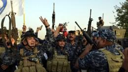 Φωτογραφία αρχείου όπου εικονίζονται Ιρακινοί στρατιώτες. EPA/STR