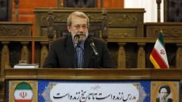 File Photo: Iranian Parliament president Ali Larijani. EPA, STR