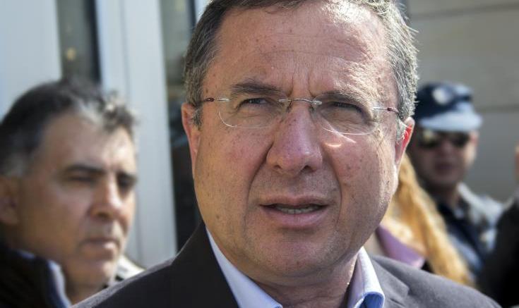 Ο επικεφαλής των Οικολόγων Γιώργος Περδίκης. Φωτογραφία ΚΥΠΕ.