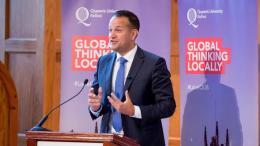 Ο πρωθυπουργός της Ιρλανδίας, Λίο Βαράντκαρ. Φωτογραφία: ΚΥΠΕ.