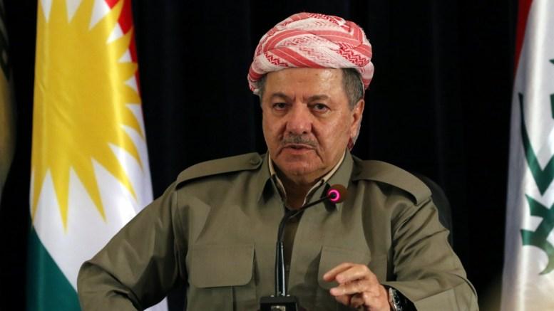 FILE PHOTO. Masoud Barzani President of the Iraqi Kurdistan. EPA/GAILAN HAJI