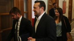O υπουργός  Ψηφιακής Πολιτικής, Τηλεπικοινωνιών και Ενημέρωσης Νικόλαος Παππάς     ΑΠΕ - ΜΠΕ/ΑΠΕ - ΜΠΕ/Αλέξανδρος Μπελτές