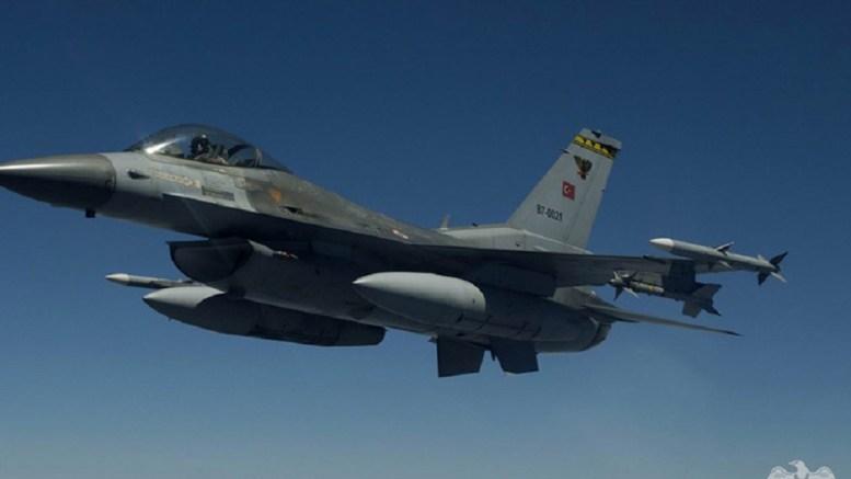 Μαχητικό F-16 της τουρκικής αεροπορίας. Φωτογραφία από την επίσημη ιστοσελίδα της τουρκικής αεροπορίας.