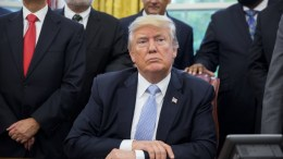 FILE PHOTO. US President Donald J. Trump. EPA/SHAWN THEW