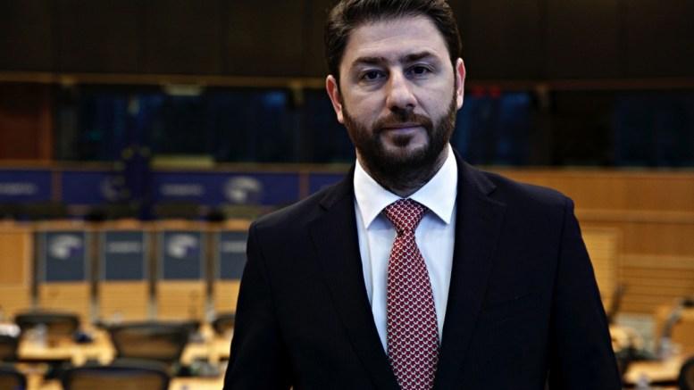 Ο Ευρωβουλευτής, Νίκος Ανδρουλάκης.. ΑΠΕ ΜΠΕ, STR