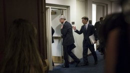Special Counsel and Former FBI Director Robert Mueller (C) leaves after briefing members of the Senate Judiciary Committee on the investigation into Russia's interference in the 2016 US presidential election, on Capitol Hill in Washington, DC, USA. EPA, MICHAEL REYNOLDS