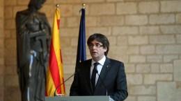 Φωτογραφία Αρχείου Catalan leader Carles Puigdemont. EPA, Toni Albir