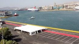 Φωτογραφία Αρχείου.   Η νέα προβλήτα κρουαζιέρας Αγίου Νικολάου στο λιμάνι του Πειραιά.  ΑΠΕ-ΜΠΕ/ΑΠΕ-ΜΠΕ/ΓΙΩΡΓΟΣ ΧΡΙΣΤΑΚΗΣ
