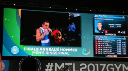 Eleftherios Petrounias (GRE), the reigning Olympic and World champion on Rings, wins the world title on the event once again. Photo via @gymnastics