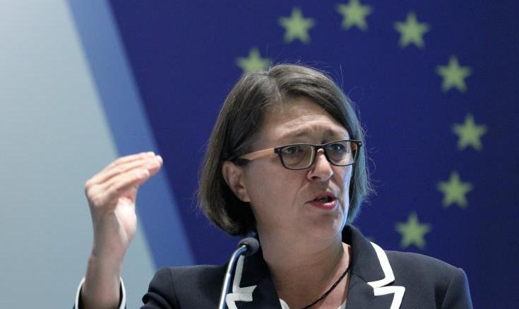 European Union (EU) Commissioner for Transport Violeta Bulc. EPA/BAGUS INDAHONO