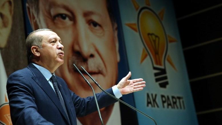 Ο Τούρκος πρόεδρος Ερντογάν. Φωτογραφία Τουρκική Προεδρία.