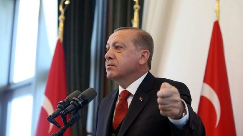 Θα κλείσει τα σύνορα με το ιρακινό Κουρδιστάν, λέει ο Ερντογάν. Φωτογραφία του Τούρκου via της Τουρκικής Προεδρίας.