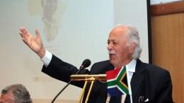 Φωτογραφία Αρχείου Ο Γιώργος Μπίζος μιλά σε εκδήλωση του Ελληνο-Αφρικανικού Επιμελητηρίου.  ΑΠΕ-ΜΠΕ/ΑΠΕ-ΜΠΕ/Παντελής Σαίτας