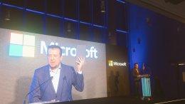 Η τεχνολογία πρέπει να αφομοιώνεται τόσο βαθιά που να καθίσταται ανεπαίσθητη. Καθήκον του υπουργείου μας να φέρει το αύριο σήμερα για όλους, τόνισε ο υπουργός κ. Νίκος Παππάς, σΣτην εκδήλωση για τα 25 χρόνια παρουσίας της Microsoft στην Ελλάδα στο ΚΠΙΣΝ. Photo via Twitter