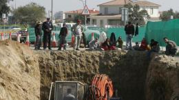 Εκσκαφή στον ομαδικό τάφο στο Ορνίθι, Φωτογραφία ΚΥΠΕ.