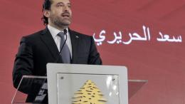 Ο πρωθυπουργός του Λιβάνου αλ Χαρίρι. Φωτογραφία ΚΥΠΕ