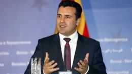 FYROM Prime Minister, Zoran Zaev. FILE PHOTO. EPA, FEHIM DEMIR