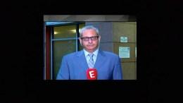 Ο δημοσιογράφος Δημήτρης Αλειφερόπουλος. Φωτογραφία via E TV