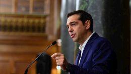Ο Πρωθυπουργός Αλέξης Τσίπρας. ΑΠΕ-ΜΠΕ/ΠΑΝΑΓΟΣ ΔΗΜΗΤΡΗΣ