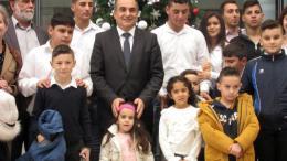 Η επιλογή ζωής των εγκλωβισμένων φάρος για όλη την Κύπρο, είπε ο Πρόεδρος της Βουλής σε μαθητές του Ριζοκαρπάσου. Φωτογραφία ΚΥΠΕ.