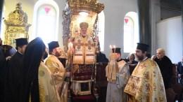 Ο Οικουμενικός Πατριάρχης Βαρθολομαίος παρέστη στην χειροτονία σε Διάκονο του μοναχού Ιωάννη Γρηγοριάδη, από τον Μητροπολίτη Προύσης Ελπιδοφόρο, στην της Ιερά Μονή Αγίας Τριάδος στη Χάλκη, Σάββατο 20 Ιανουαρίου 2018. ΑΠΕ-ΜΠΕ, Οικουμενικό Πατριαρχείο, Νίκος Μαγγίνας