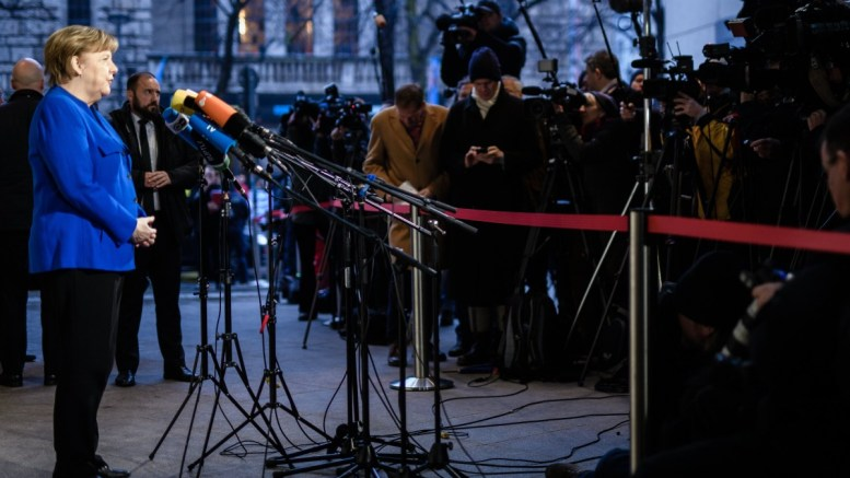 File PHOTO: German Chancellor and Chairwoman of the Christian Democratic Union (CDU), Angela Merkel. EPA,CLEMENS BILAN