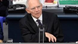 Ο πρόεδρος του Γερμανικού Κοινοβουλίου Βόλφγκανγκ Σόιμπλε. (c) Deutscher Bundestag / Achim Melde