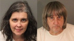 A composite picture of booking photos released by the Riverside County Sheriff's Department on 15 January 2018 shows David Allen Turpin (R), and Louise Anna Turpin (L) who were arrested, in Perris, California, USA, on 14 January 2018 and charged with torture and child endangerment for allegedly holding their 13 children captive in their home. EPA/Riverside County Sheriff's Department / HANDOUT HANDOUT EDITORIAL USE ONLY/NO SALES