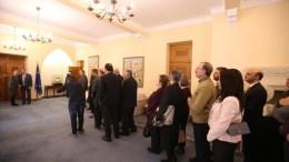 Ο Πρόεδρος της Δημοκρατίας κ. Νίκος Αναστασιάδης δέχθηκε τους πολίτες με την ευκαιρία της επανεκλογής του. Φωτογραφία ΓΤΠ - ΣΤ. ΙΩΑΝΝΙΔΗΣ