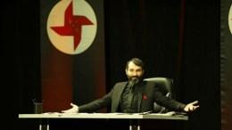 Ο Τούρκος ηθοποιός Baris Atay. Photo via Twitter, @dokuz8_EN