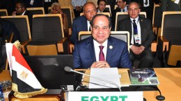 Egyptian President Abdel Fattah al-Sisi in Addis Ababa, Ethiopia. EPA, EGYPTIAN PRESIDENCY HANDOUT, EDITORIAL USE ONLY
