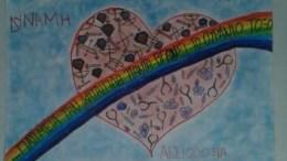 Η ζωγραφιά ανήκει στην Ελένη Θωμά. Νικήτρια παιδικού καρκίνου.