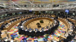 A general view over a EU Summit in Brussels, Belgium. FILE PHOTO, EPA, JOHN THYS, POOL