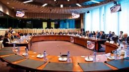 General view of the Eurogroup meeting. Copyright: European Union