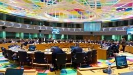 Η αίθουσα συνεδρίασης του Eurogroup - Πηγή: European Council