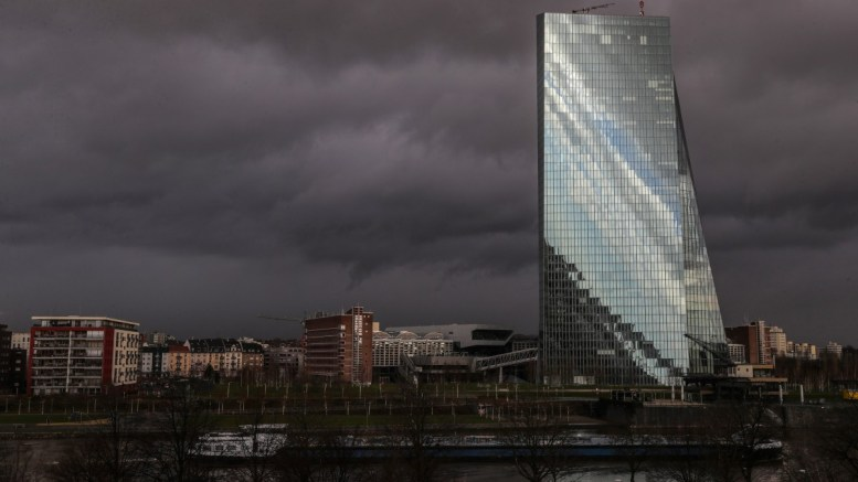 A general view of the building of the European Central Bank (ECB) in Frankfurt/Main, Germany. FILE PHOTO, EPA, ARMANDO BABANI