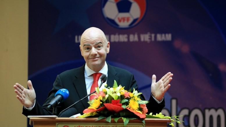 FILE PHOTO Federation Internationale de Football Association (FIFA) president Gianni Infantino  EPA/MINH HOANG