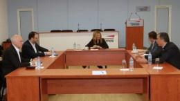 File Photo:  Η Φώφη Γεννηματά σε συνεδρίαση του πολιτικού συμβουλίου του Κινήματος Αλλαγής ΑΠΕ-ΜΠΕ, Παντελής Σαίτας